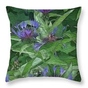 Thistle  Throw Pillow