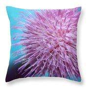 Thistle Wish Throw Pillow