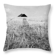 Thistles In Deed  Throw Pillow