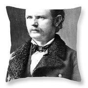 Thomas Benton Weir(1838-1876) Throw Pillow