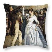 Thomas Hardy, 1886 Throw Pillow by Granger