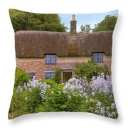 Thomas Hardy's Cottage Throw Pillow by Joana Kruse