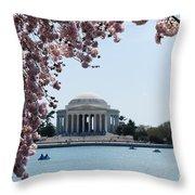 Thomas Jefferson Memorial In Dc Throw Pillow