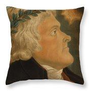 Thomas Jefferson Throw Pillow