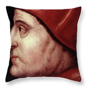 Thomas Wolsey (c1475-1530) Throw Pillow