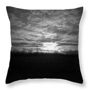 Thornton Sunset With A Holga Throw Pillow