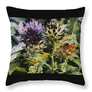 Thorny Crazy Throw Pillow