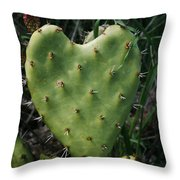 Thorny Heart Throw Pillow