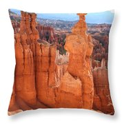 Thors Hammer - Bryce Canyon Throw Pillow