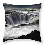 Thors Well Throw Pillow