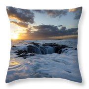Thors Well Oregon Truly A Place Of Magic 3 Throw Pillow