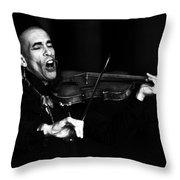 Thoth Y Violin Throw Pillow