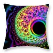 Thought Bubble Protozoa  Throw Pillow