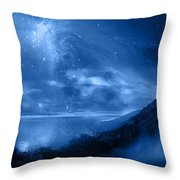 Thought World Throw Pillow