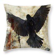 Thoughtless Falls Throw Pillow