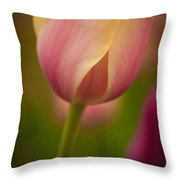 Thoughts Are With You Throw Pillow