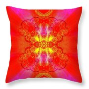 Thoughts Of Love And Light Transforming Throw Pillow