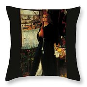 Thoughts Of The Past Throw Pillow