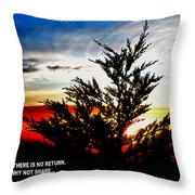 Thoughts On Life At The End Of A Day Throw Pillow