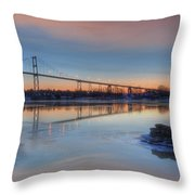 Thousand Islands Sunrise Throw Pillow