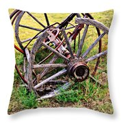 Thrasher Past Throw Pillow