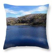 Threadbo Lake Panorama - Australia Throw Pillow