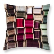 Threads I Throw Pillow