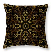 Threads Of Gold And Plaits Of Silver Throw Pillow