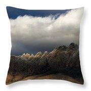 Threatening Skies Throw Pillow