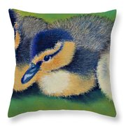 Three Amigos Throw Pillow by Tracy L Teeter