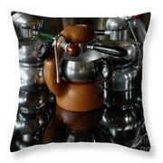 Three Atomic 2 Throw Pillow
