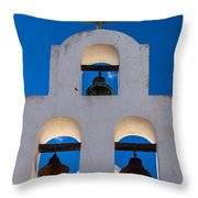 Three Bells In The Afternoon Throw Pillow