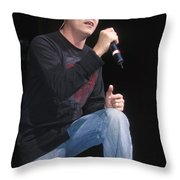 Three Doors Down - Brad Arnold Throw Pillow