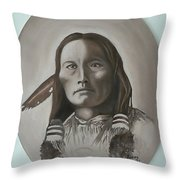 Three Fingers Throw Pillow