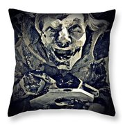 Three Gargoyles Throw Pillow