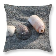 Three Is Not A Crowd Throw Pillow