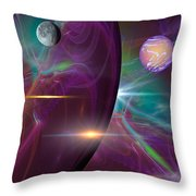 Three Lords A Leaping Throw Pillow