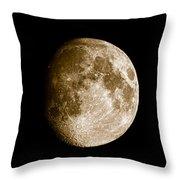 Three Moons No2 Throw Pillow