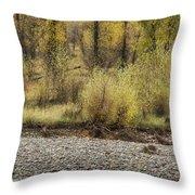 Three Moose Resting Throw Pillow