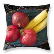 Three Pomegranates  Throw Pillow