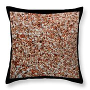 Three Rock Patterns Throw Pillow
