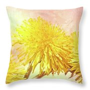 Three Simple Things Throw Pillow by Bob Orsillo