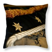 Three Stars Throw Pillow
