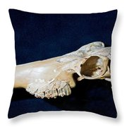 Three Toed Slingshot Throw Pillow