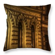 Three Windows Light Throw Pillow