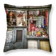 Thrift Store Shop Throw Pillow