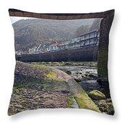 Through The Bridge Throw Pillow