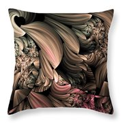Through The Photographers Lens Abstract Throw Pillow