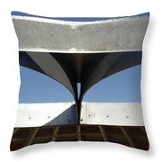 Through The Roof 1 Throw Pillow