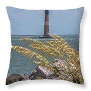 Through The Sea Grass Throw Pillow
